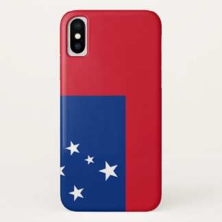 Samoa-Inseln Flagge iPhone X Hülle