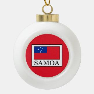 Samoa-Inseln Keramik Kugel-Ornament