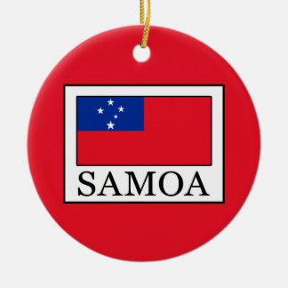 Samoa-Inseln Keramik Ornament