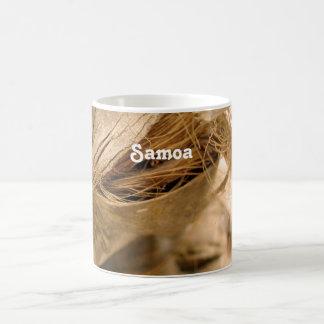 Samoa-Inseln Kokosnuss Kaffeetasse
