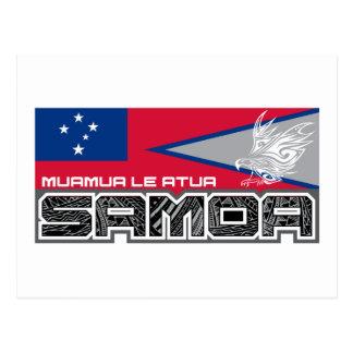 Samoa-Inseln Muamua Le Atua - American- Postkarte