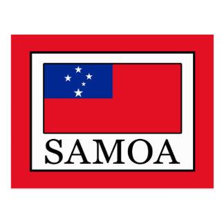 Samoa-Inseln Postkarte