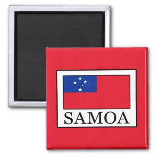 Samoa-Inseln Quadratischer Magnet