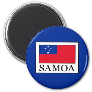 Samoa-Inseln Runder Magnet 5,1 Cm