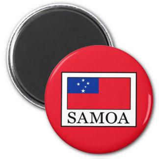 Samoa-Inseln Runder Magnet 5,7 Cm