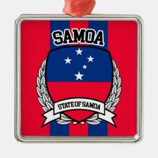 Samoa-Inseln Silbernes Ornament