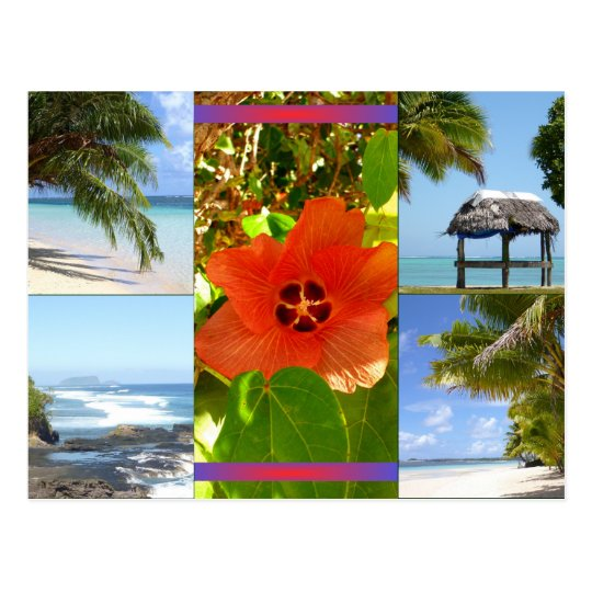Samoa Postkarte