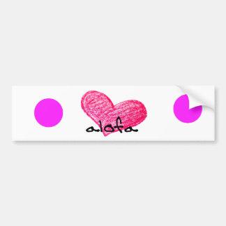 Samoaische Sprache des Liebe-Entwurfs Autoaufkleber