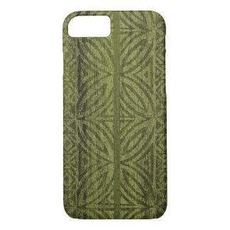 Samoaischer Tapa-hawaiisches Imitat-Holz-Surfbrett iPhone 8/7 Hülle
