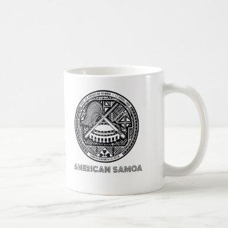 Samoaisches Emblem Kaffeetasse