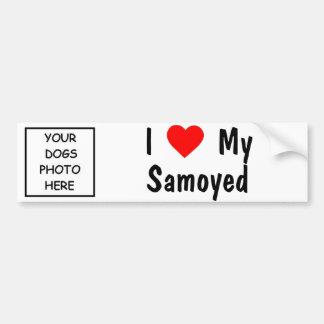 Samoyed Autoaufkleber