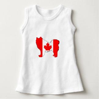 Samoyed Kanada Kleid