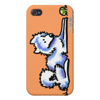 Samoyed-Zeit heraus iPhone 4 Schutzhülle