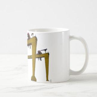 Samson u. Goliath Kaffeetasse