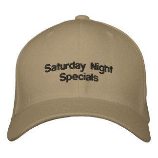 Samstag Abend Specials Bestickte Baseballkappe