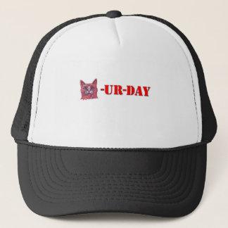 Samstag ist Caturday Truckerkappe