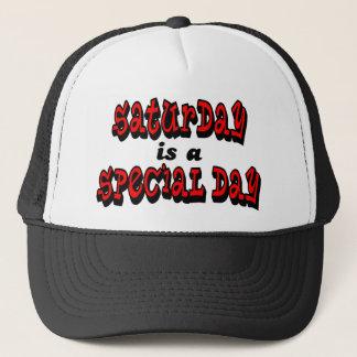 Samstag ist ein spezieller Tag Truckerkappe