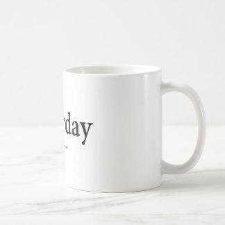 Samstag Kaffeetasse