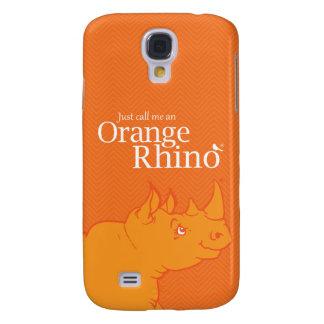 """Samsun Galaxie S4 """"rufen mich gerade ein orange Galaxy S4 Hülle"""
