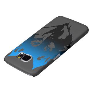 Samsung 6 rufen Fall mit meinem Logo an