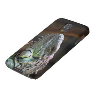 Samsung-Galaxie-Kasten mit Kopf der Leguaneidechse Samsung S5 Hülle