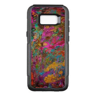 Samsung-Galaxie S8+ Fall mit abstraktem Entwurf OtterBox Commuter Samsung Galaxy S8+ Hülle