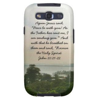 Samsung rufen Gehäuse mit den Wörtern von Jesus an Etui Fürs Galaxy S3