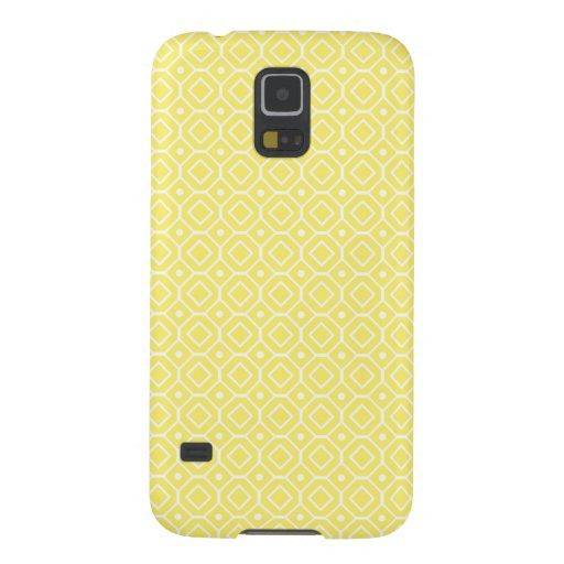 Samsung-Zitronen-Retro Muster Samsung S5 Cover