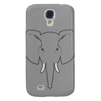 Samsungs-Galaxie S4 des Elefanten grauer Kasten Galaxy S4 Hülle