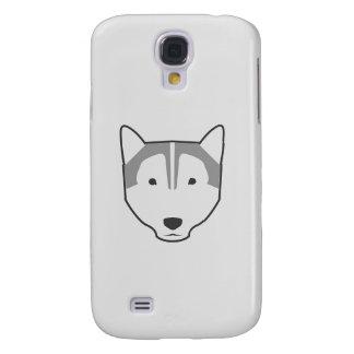 Samsungs-Galaxie S4 des Wolfs weißer Kasten Galaxy S4 Hülle