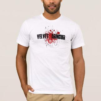 Samt-Spritzen T-Shirt