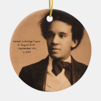 Samuel Coleridge-Taylor Keramik Ornament