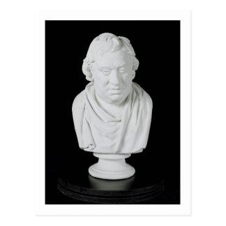 Samuel Johnson (1709-84) 1777 (Gips) Postkarte