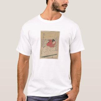 Samurai-Kunst von Japan circa 1800s T-Shirt
