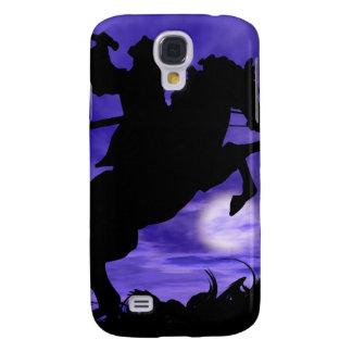 Samurais auf Pferd Galaxy S4 Hülle