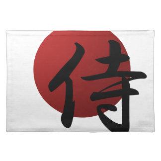 Samurais Sun Stofftischset