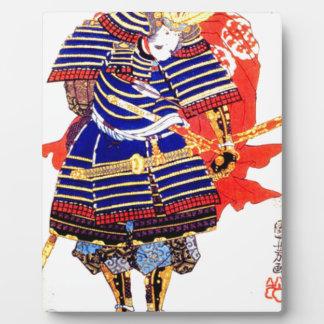 Samurais - Utagawa Kuniyoshi 歌川国芳 Fotoplatte