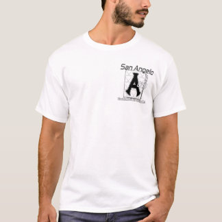 San Angelo Aces Baseball-Rollen-Hockey-T - Shirt