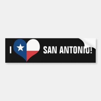 San Antonio Autoaufkleber