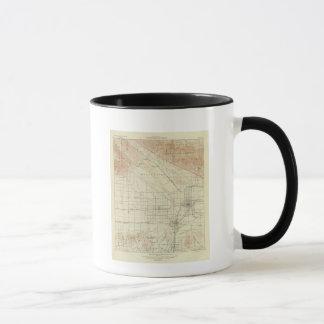 San- Bernardinoviereck, das San- Andreasriß zeigt Tasse