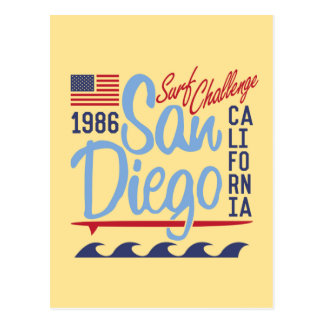 San Diego Brandungs-Herausforderung 1986 Postkarte