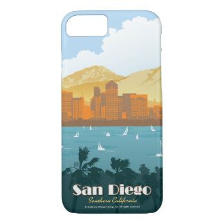 San Diego, CA iPhone 8/7 Hülle