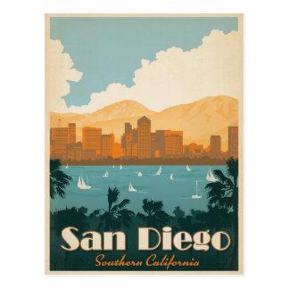 San Diego, CA Postkarte