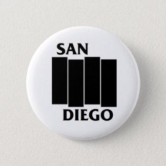 San Diego/Flagge-Parodie-Punkknopf Runder Button 5,1 Cm
