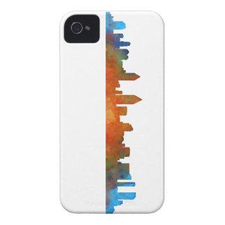 San Diego Kalifornien City Skyline Watercolor v01 iPhone 4 Etuis