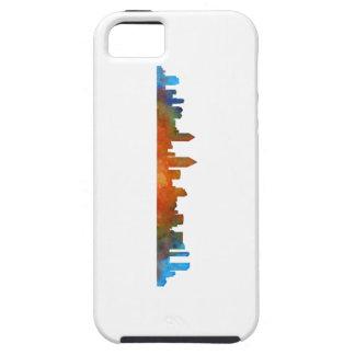 San Diego Kalifornien City Skyline Watercolor v01 Schutzhülle Fürs iPhone 5