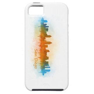 San Diego Kalifornien City Skyline Watercolor v03 Hülle Fürs iPhone 5