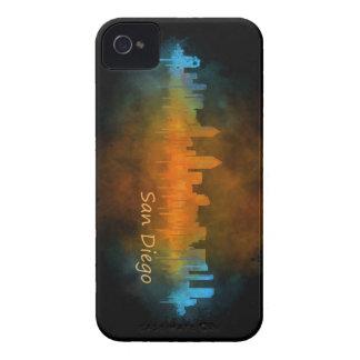 San Diego Kalifornien City Skyline Watercolor v04 Case-Mate iPhone 4 Hüllen