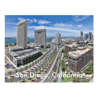 San Diego, Kalifornien Postkarte