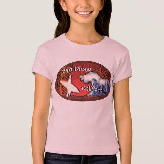 San Diego Kalifornien rosa T-Shirt